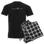 somebunny loves me Men's Dark Pajamas