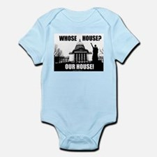 Whose House? Our House! Infant Bodysuit