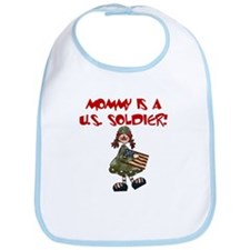 Mommy is a US Soldier Bib