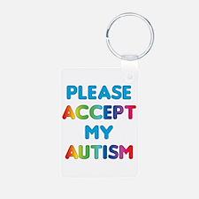 Accept Autism Keychains