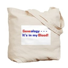 ISOGG Tote Bag - Genealogy It's In My Blood