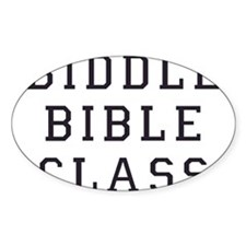 Biddle Bible Class Decal