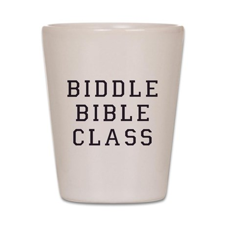 Biddle Bible Class Shot Glass