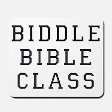 Biddle Bible Class Mousepad