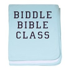 Biddle Bible Class baby blanket