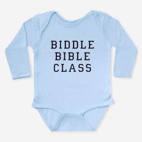 Biddle Bible Class Long Sleeve Infant Bodysuit