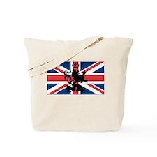 Union Jack Lion Tote Bag