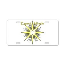 Christian Miracle Aluminum License Plate