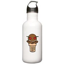 Ice Cream Face Stainless Water Bottle 1.0L