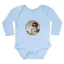 Child Saying Grace Long Sleeve Infant Bodysuit