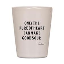 Good Soup Shot Glass