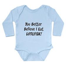 Lutefisk Long Sleeve Infant Bodysuit