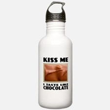 Kiss Me Chocolate Water Bottle