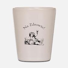 Polish Toast Wine Shot Glass