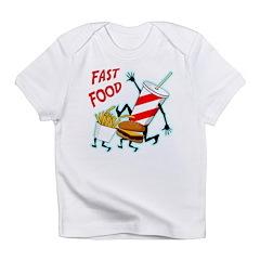 Running Fast Food Infant T-Shirt