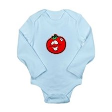 Silly Tomato Long Sleeve Infant Bodysuit