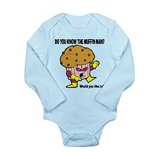 The Muffin Man Long Sleeve Infant Bodysuit