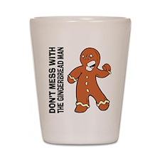 The Gingerbread Man Shot Glass