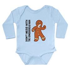 The Gingerbread Man Long Sleeve Infant Bodysuit