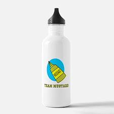 Team Mustard Water Bottle