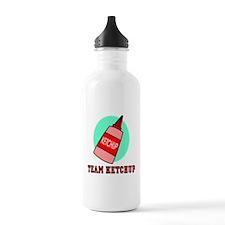 Team Ketchup Water Bottle
