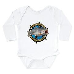 Fishing Legend Long Sleeve Infant Bodysuit