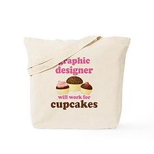 Funny Graphic Designer Tote Bag