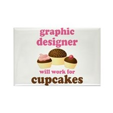 Funny Graphic Designer Rectangle Magnet