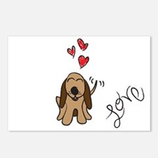 Loveable Hound Postcards (Package of 8)