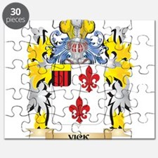 Vick Family Crest - Coat of Arms Puzzle