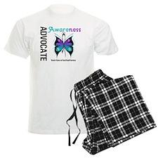 Purple & Teal Butterfly Pajamas