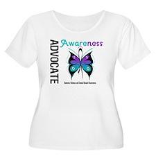 Purple & Teal Butterfly T-Shirt