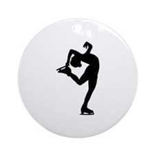 Figure Skating Ornament (Round)