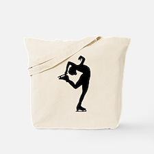 Figure Skating Tote Bag