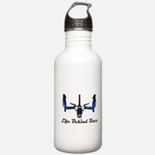Life Behind Bars Water Bottle