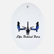 Life Behind Bars Ornament (Oval)