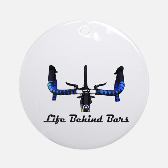 Life Behind Bars Ornament (Round)