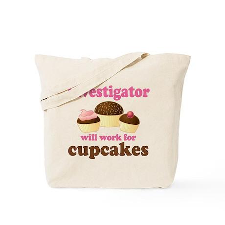Funny Investigator Tote Bag