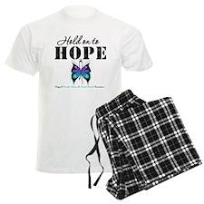Purple & Teal Hope Pajamas