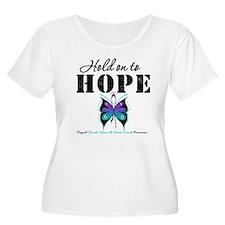 Purple & Teal Hope T-Shirt