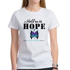Purple & Teal Hope Tee
