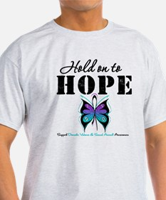 Purple & Teal Hope T-Shirt