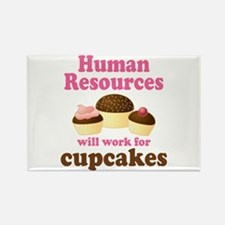 Funny Human Resources Rectangle Magnet