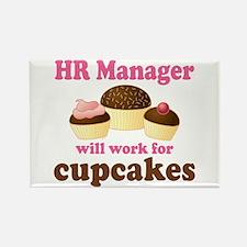 Funny Hr Manager Rectangle Magnet