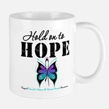 Purple & Teal Hope Mug