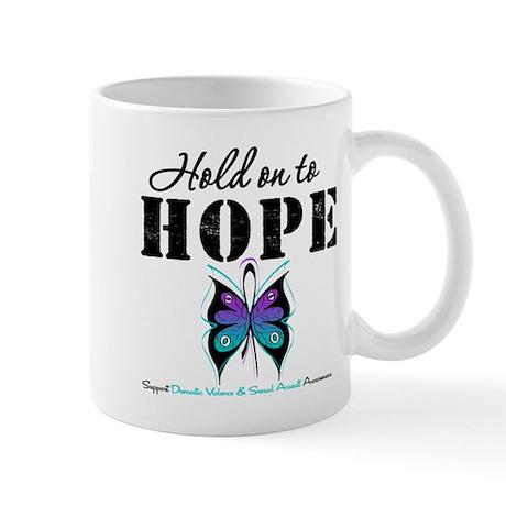 Purple & Teal Hope Mug