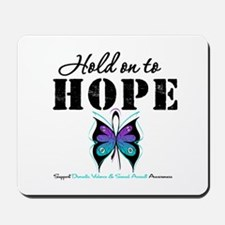 Purple & Teal Hope Mousepad