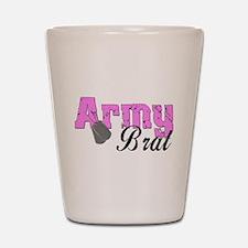 Army Brat Shot Glass