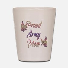 Proud Army Mom Shot Glass