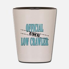 Official USCG Low Crawler Shot Glass